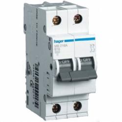 Автоматический выключатель 2P 4,5kA С-63A 3M